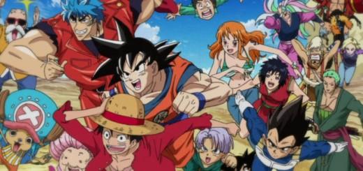 Luffy, Goku, Toriko, One Piece, Dragon Ball Z